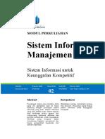 Modul Sistem Informasi Manajemen [TM2]