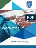 actividad matematicas