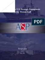 The Case for U.S. Strategic Engagement in the Persian Gulf