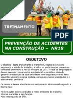 Treinamento de Preven+§+£o de Acidentes na Constru+§+£o Civil  NR-18_SEGSEMPRE