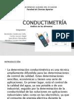 CONDUCTIMETRÍA diapositivas
