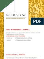 Grupo 56 y 57 Moreno Antonio Jhon