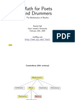 Math for Poets and Drummers