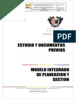 Estudios Previos Infraestructura Educativa