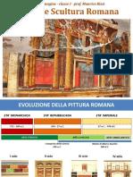 ARTE I  pittura e scultura romana