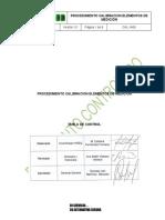 CAL-1406 PROCEDIMIENTO CALIBRACION ELEMENTOS DE MEDICION