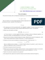 OMP1 Vecteurs Laplace
