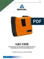 Arcode Guide D'Installation Rapide.V200.Fr