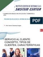 CLASE servicio al cliente 15 12 2020