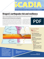Oregon's earthquake risk and resiliency (Oregon Department of Geology and Mineral Industries)