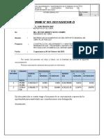 INFORME Nº 001-RESIDENCIA REPORTE SEMANAL