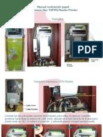 Manual Instalacion papel impresora Start TUP992_LPT1