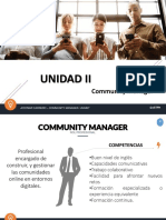 Community Management. MODULO II