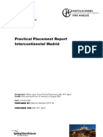 Final Edition - Practical Placement Report