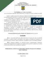 Hotarare CNSU nr. 31 din 21.05.2021