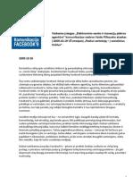 2009.10.26 PDFONTOUR apie FACEBOOK kokybę