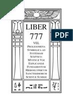 kabbalah-0777-Liber-Prolegomena