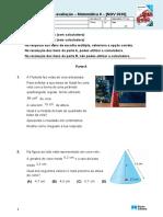 Matemática 8ano Teste Nov2020