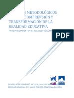 TP Nº3 INTEGRADOOR INT. A ALA INVESTIGACION EDUCATIVA
