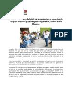 31-03-21 Apertura a La Sociedad Civil Para Que Surjan Propuestas de Las y Los Mejores Para Integrar Su Gobierno, Ofrece Mario Moreno (1)