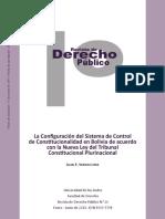 59549454 El Control de Constitucionalidad en La Nueva Ley Del Tribunal Constitucional Plurinacional en Bolivia