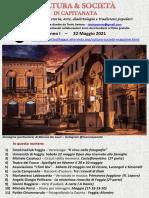 Cultura & Società in Capitanata N. 26 Del 22-05-2021