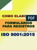 Livro Digital Como Elaborar Formulários Iso 9001_2015