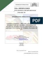 Informe post-operacional SBC-159