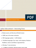 India Environmental Scan