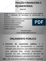 Aula 01 Evolução Orç No Brasil Princi Tipos e Tec Cred Ad