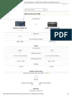 Panasonic Lumix DMC-3D1 vs. Fujifilm FinePix Real 3D W3 - Comparação de sensores
