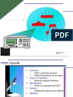 HP spectrum analysis basics