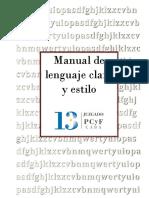 Manual de Lenguaje Claro y Estilo (para consultar)