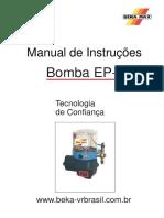 Manual Bomba Elétrica Graxa