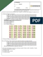 Parcial No. 2 Estadistica Inferencial -2do Corte- Distancia -Mayo 2021