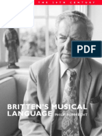 Philip Rupprecht - Britten's Musical Language