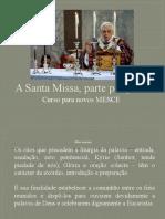 A Santa Missa, Parte Por Parte