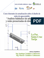Documento del Curso de Agua Potable - GIZ