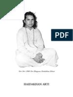 Aarti of Babaji Di Herakhan
