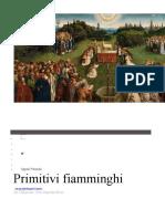 i PRIMITIVI FIAMMINGHI