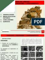 Ciudades Urbanismo y Ordenamiento -Parte 1