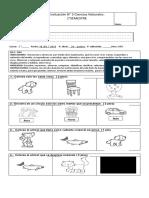 1°A- evaluación 3  los seres vivos