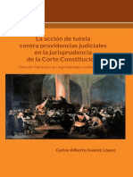 LA ACCIÓN DE TUTELA CONTRA PROVIDENCIAS JUDICIALES