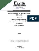 Methodologie de Collectes de Donnée