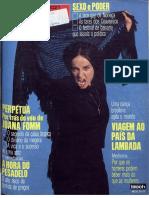 Curiaú, o Último Quilombo (Manchete Nº 1971 de 1990)