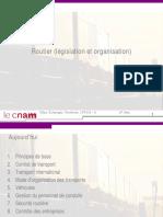 5-Routier (législation et organisation)