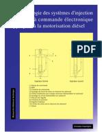 Technologie Système Injection Essence à Commande Électronique Appliquée Au Diesel
