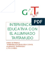 Intervencion educativa disfemia