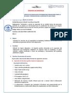 9.- TERMINOS DE REFERENCIA PARA LA CONTRATACION DE UN ESPECIALISTA EN MARKETING - TEXTO DE DIVULGACION