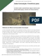 Ofício da Imaculada Conceição - Comunidade Católica Shalom